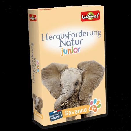 Herausforderung Natur Junior - Savanne - Spiel ab 3 Jahren - Bioviva, Entwickler von Spielen, die Gutes tun.