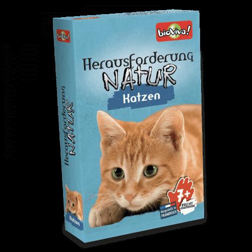 Herausforderung Nature Katzen - Spiel ab 7 Jahren - Bioviva, Entwickler von Spielen, die Gutes tun.