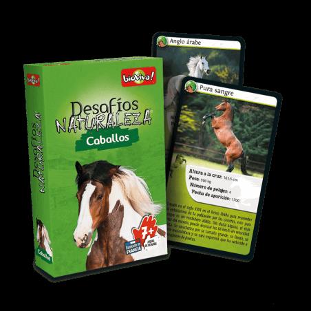 Desafios Naturaleza Cabollos - Juego a partir de 7 años - Bioviva, creador de juegos que hacen el bien.