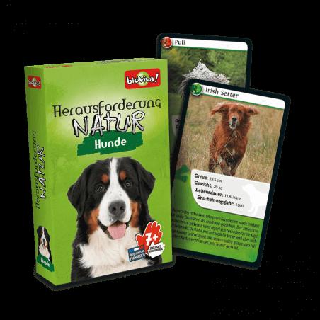 Herausforderung Nature Hunde - Spiel ab 7 Jahren - Bioviva, Entwickler von Spielen, die Gutes tun.