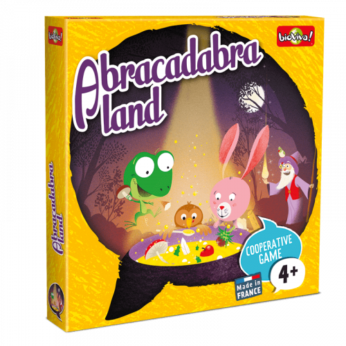 Abracadabraland - Game from 4 years old - Bioviva, creator of games that do good.