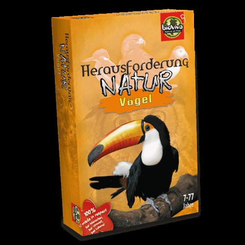 Herausforderung Natur - Vögel - Spiel ab 7 Jahren - Bioviva, Entwickler von Spielen, die Gutes tun.