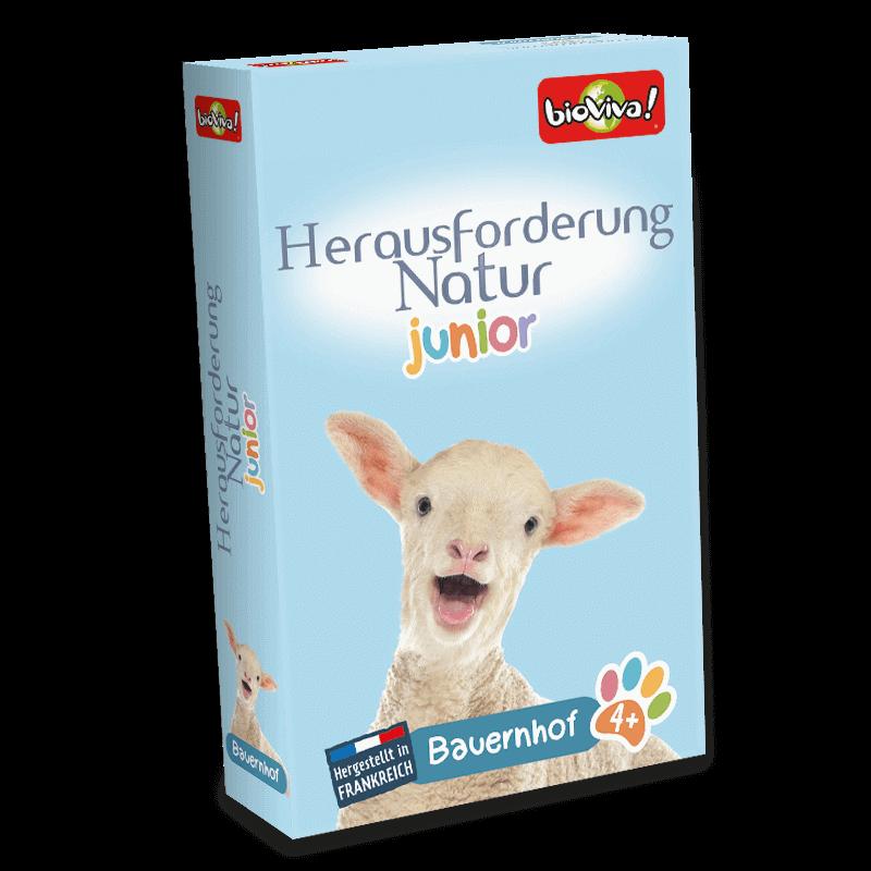 Herausforderung Natur Junior Bauernhof - Spiel ab 4 Jahren - Bioviva, Entwickler von Spielen, die Gutes tun.