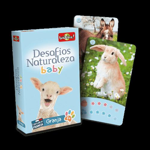 Desafios Naturaleza Baby Granja - Juego a partir de 4 años - Bioviva, creador de juegos que hacen el bien.