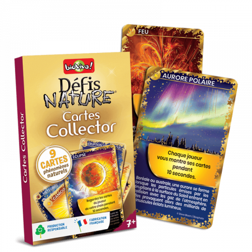 Defis Nature Pack Cartes Collector Or