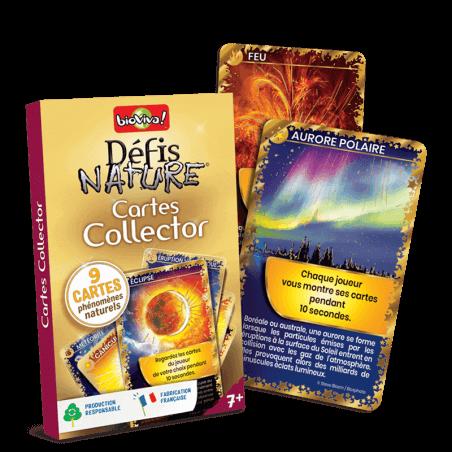 Défis Nature - Pack Cartes collector Or - Jeu à partir de 7 ans