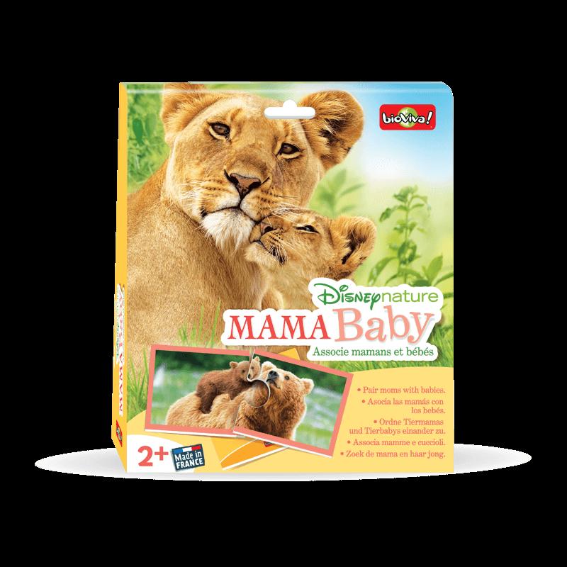 Mama Baby - Disneynature - Jeu à partir de 3 ans - Bioviva, créateur de jeux qui font du bien.