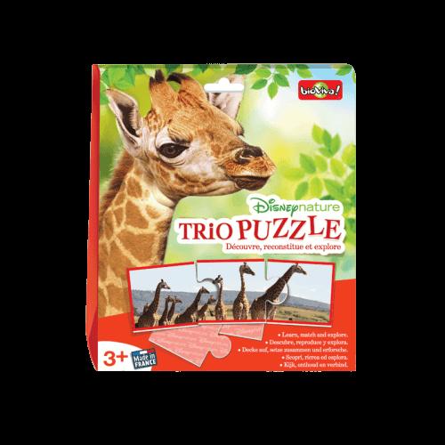 Trio Puzzle - Disneynature - Jeu à partir de 3 ans - Bioviva, créateur de jeux qui font du bien.