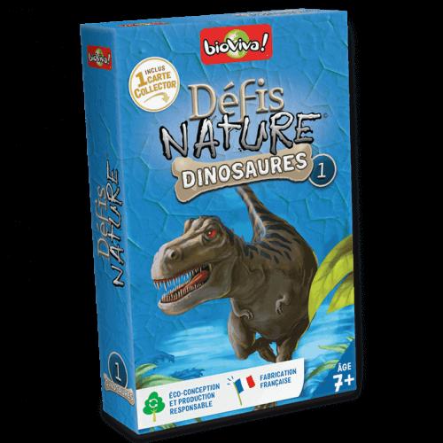 Défis Nature Dinosaures 1 - Jeu à partir de 7 ans - Bioviva, créateur de jeux qui font du bien.
