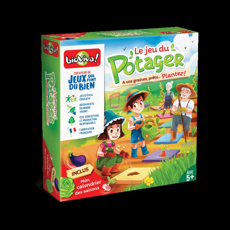 Le Jeu du Potager - Jeu à partir de 5 ans - Bioviva, créateur de jeux qui font du bien.