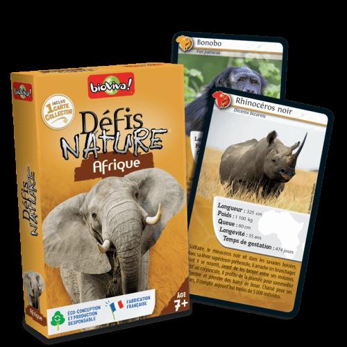Défis Nature Afrique - Jeu à partir de 7 ans - Bioviva, créateur de jeux qui font du bien.