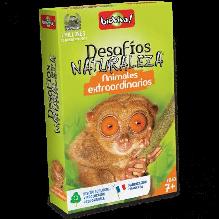 Desafios Naturaleza Animales extraordinarios - Juego a partir de 7 años - Bioviva, creador de juegos que hacen el bien.