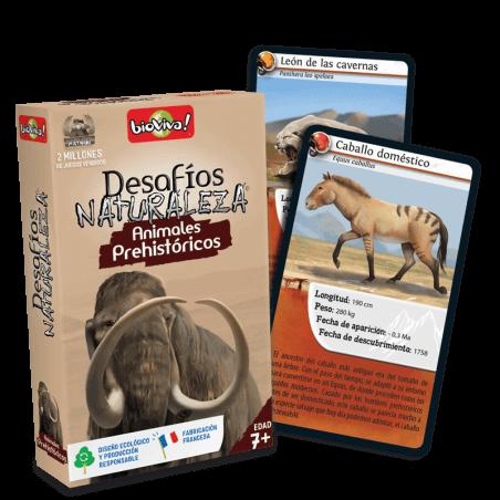 Desafios Naturaleza Animales Prehistoricos - Juego a partir de 7 años - Bioviva, creador de juegos que hacen el bien.