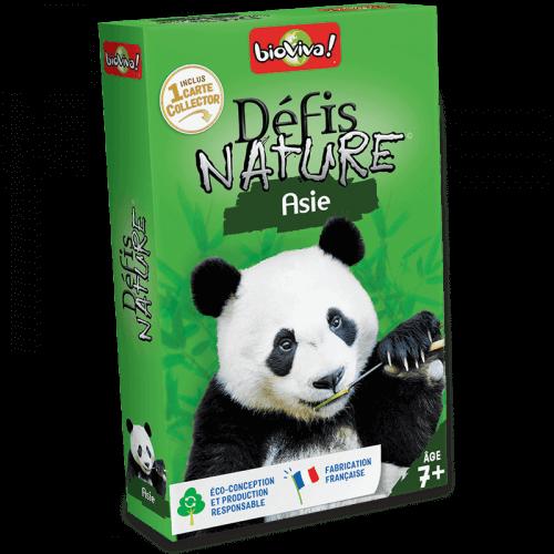 Défis Nature Asie - Jeu à partir de 7 ans - Bioviva, créateur de jeux qui font du bien.